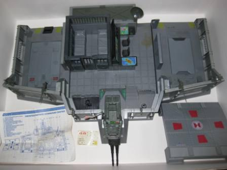 Headquarters Command Center (1983) w/ Inst - G.I. Joe